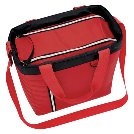 Promotional Products - Quilted Slim Line Cooler Tote Bag