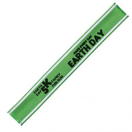 Promotional Custom Logo Reflective Snap Band