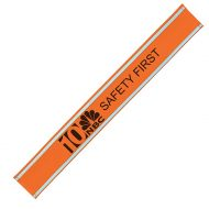 Promotional Custom Logo Reflective Snap Band