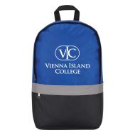 Promotional Custom Logo Reflective Strip Backpack