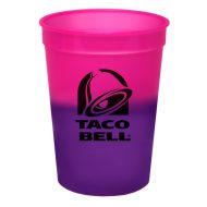 Promotional Custom Logo Reusable Mood Color Changing Stadium Cup 12oz