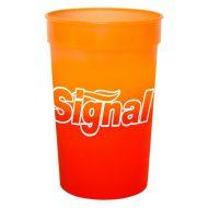 Promotional Custom Logo Reusable Mood Color Changing Stadium Cup 22oz