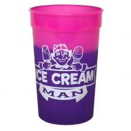 Promotional Custom Logo Reusable Mood Color Changing Stadium Cup 22oz