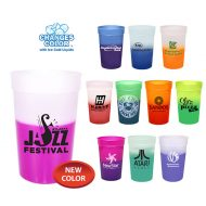 Customizable Reusable Mood Color Changing Stadium Cup-Group