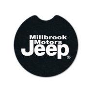 Rubber Flat Tire Car Coaster Custom Logo
