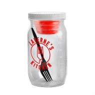 Promotional Custom Logo Salad Jar With Dressing Container
