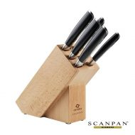 Promotional Custom Logo Scanpan Classic Knife Block Set - 6pc