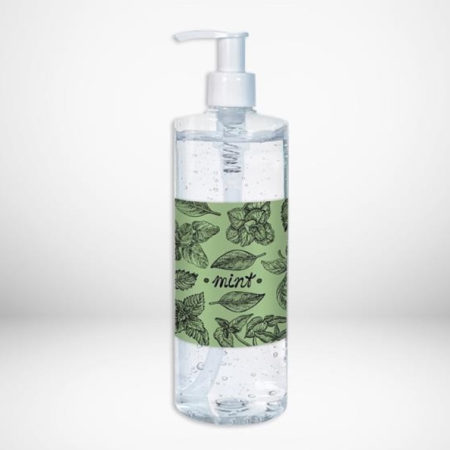 Custom label Scented Antibacterial Hand Sanitizer with Pump 16oz