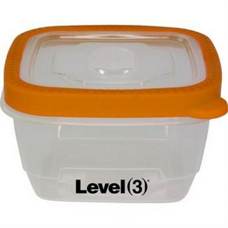 Promotional Custom Logo Seal Tight Container