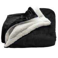 Customizable Sherpa Blanket with Logo