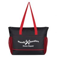 Custom Logo Promotional Signature Lunch Cooler Tote Bag
