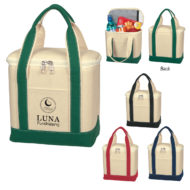 Promotional Products - Small Cotton Canvas Lunch Cooler Bag