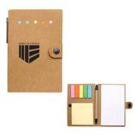 Small Snap Notebook with Desk Essentials Custom Logo