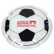 Promotional Custom Logo Soccer Ball Hot/Cold Pack Aqua Pearls