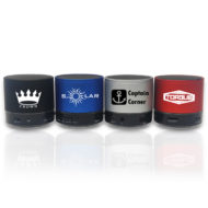 Promotional Products - Logo Imprinted Technology Products - Corporate Giveaways - Custom Printed Bluetooth Speaker