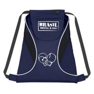 Custom Logo Promotional Sports Pack Drawstring Bag with Mesh Sides