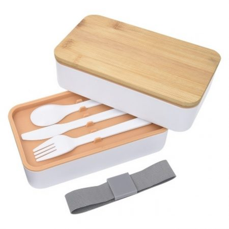 Promotional Custom Logo Stackable Bento Lunch Set