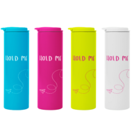 Custom Imprinted Stainless Steel Neon Color Tumbler 16oz