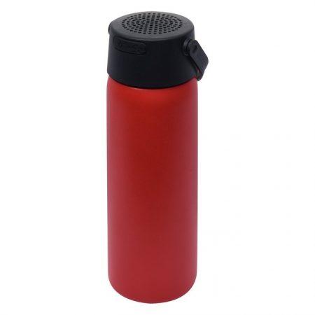 Promotional Custom Logo Stainless Steel Water Bottle With Speaker 23oz