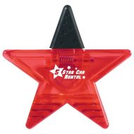 Promotional Custom Logo Star Shape Clip