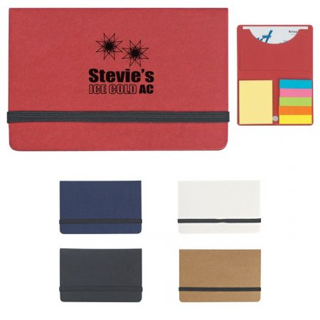 Promotional Custom Logo Sticky Notes And Flags In Business Card Case