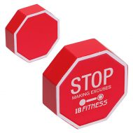 Stop Sign Stress Reliever Ball with Logo