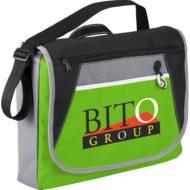 Promotional Products - Custom Imprinted Messenger Bags - Logo Bags - Studio Business Messenger Bag