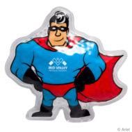 Promotional Custom Logo Super Hero Hot/Cold Pack Aqua Pearls