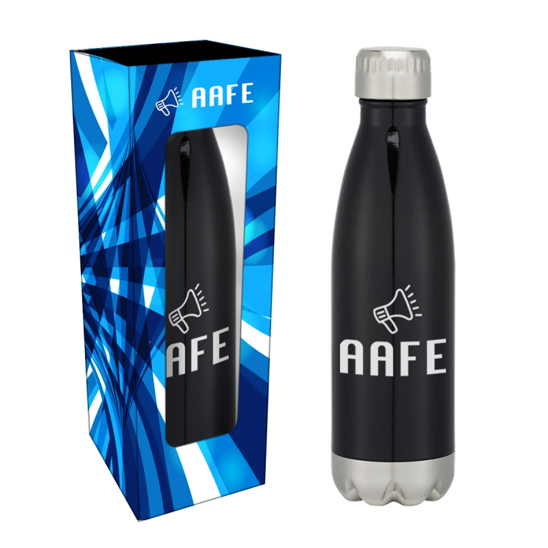 f702eb8e1d Promotional Products - Swig Stainless Steel Water Bottle 16oz with Custom  Window Box