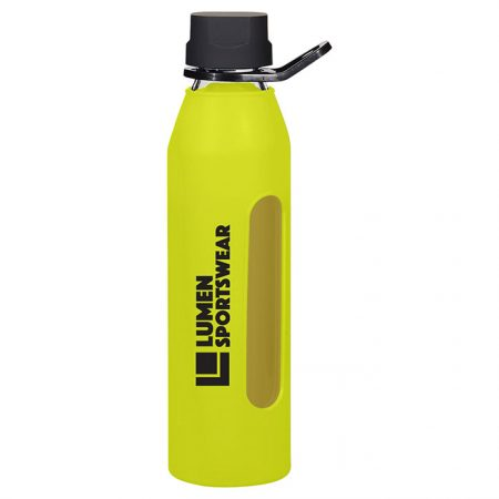 Promotional Products - Synergy Glass Water Bottle 24oz
