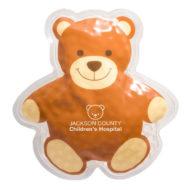 Promotional Custom Logo Teddy Bear Hot & Cold Pack Aqua Pearls