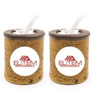Custom Logo Edible Cookie Shot Glass 2-Pack