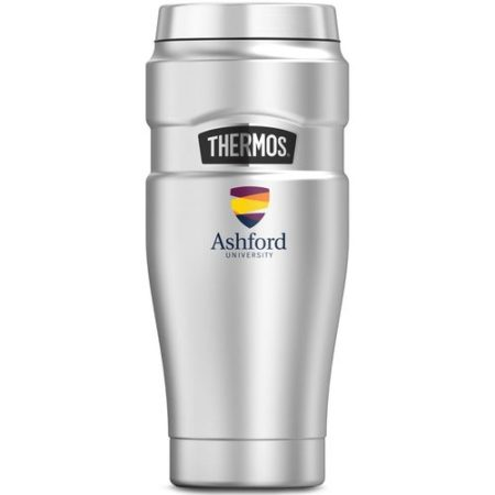 Promotional Products - Imprinted Thermos Tumbler Coffee Mug - Promotional Thermos Tumbler - Thermos Stainless Steel King Travel Tumbler 16oz
