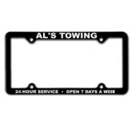 Promotional Products - Imprinted Items - Custom Printed License Frames - Automotive Industry Products - License Plate Frame