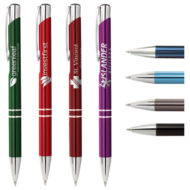 Promotional Products - Logo Pens - Promo Pens - Imprinted Metal Pens - Tres Chic Pen