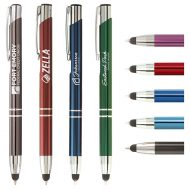 Custom Logo Promotional Tres-Chic Touch Stylus Pen with Laser Engraving