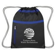 Custom Logo Promotional Trinity Sports Drawstring Bag