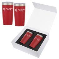 Promotional Custom Logo Two-Tone Himalayan Tumbler Gift Set 20 oz