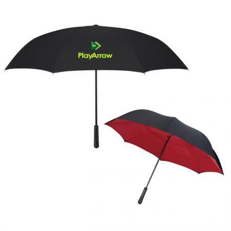 Promotional Custom Logo Two-Tone Inversion Umbrella