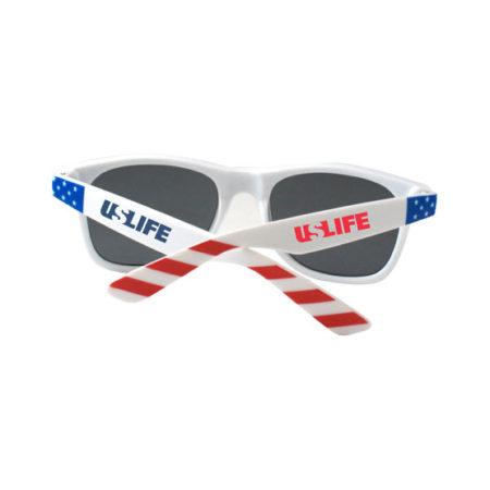 Promotional Products - Promotional Sunglasses - Custom Imprinted Sunglasses- Logo Sunglasses - USA Flag Patriotic Sunglasses