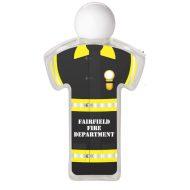Firefighter Uniform Promotional Hand Sanitizer