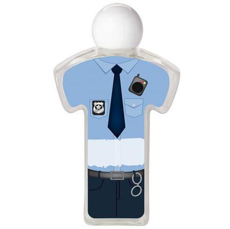 Police Uniform Promotional Hand Sanitizer