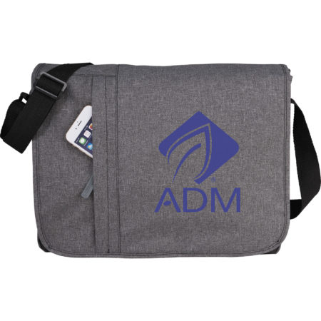 "Promotional Products - Imprinted Computer Messenger Bag - Logo Decorated Computer Messenger Bag - Urban 15"" Computer Messenger Bag"