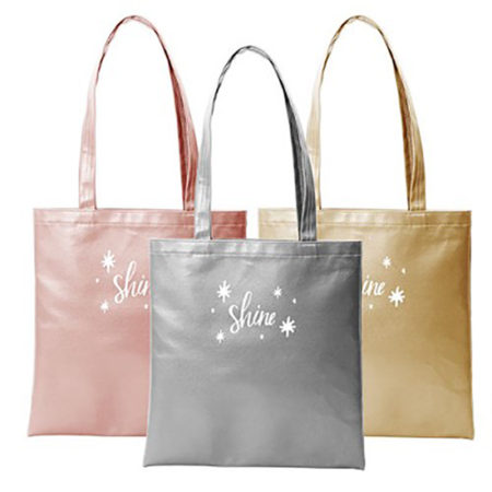 Custom logo Vegan Leather Supersize Main Squeeze Tote Bag group