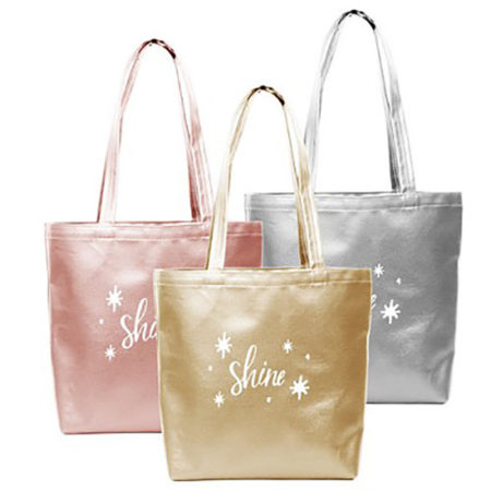 Custom Logo Vegan Leather Supersize Tote Bag group