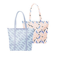 Custom logo Vegan Leather Twinkles Tote Bag