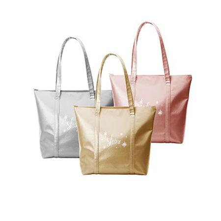 Custom logo Vegan Leather Twinkles Tote Bag group