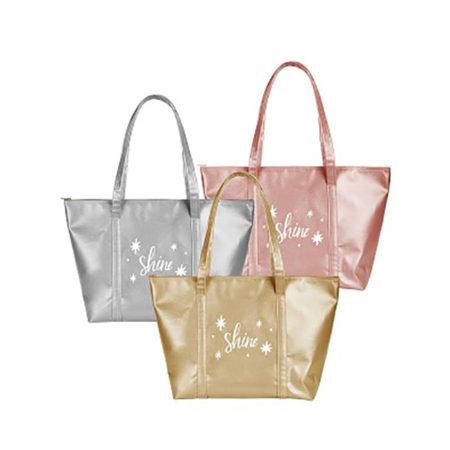 Custom logo Vegan Leather Weekender Tote Bag group
