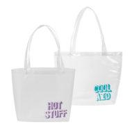 Custom Logo Vinyl Birdie Tote Bag