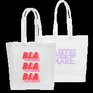 Custom logo Vinyl Grocery Tote Bag